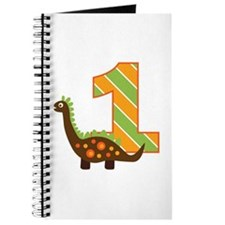Dinosaur 1st Birthday Journal