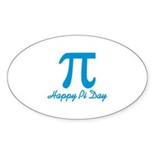 Happy Pi Day Decal