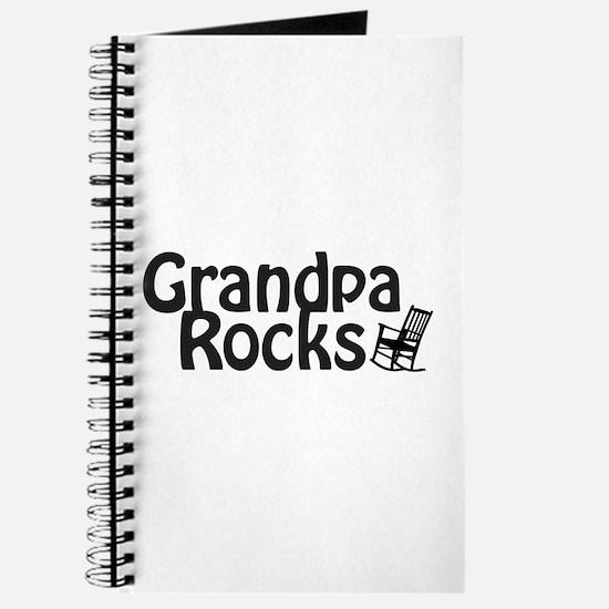 Grandpa Rocks Journal