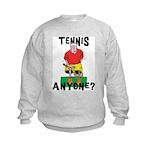 Funny Tennis Kids Sweatshirt