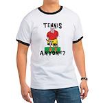 Funny Tennis Ringer T