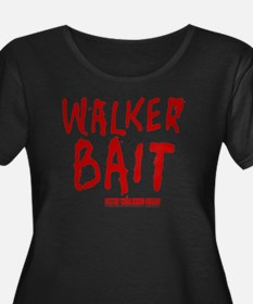 Walker Bait Women's Plus Size Scoop Neck T-Shirt