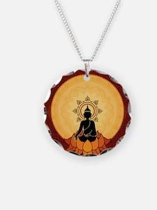 Bhuddism Artwork Necklace