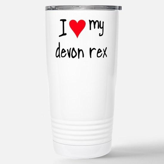 I LOVE MY Devon Rex Mugs