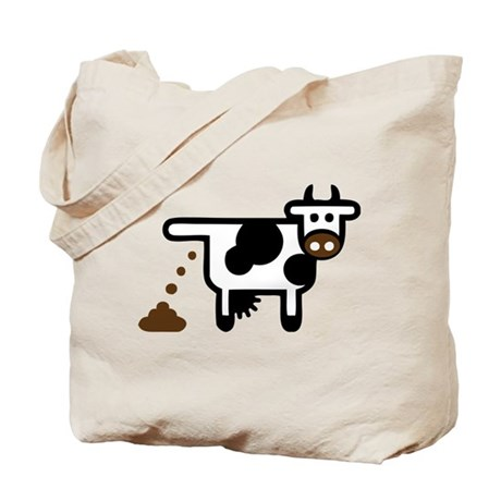 Cow Poopie Tote Bag