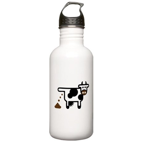 Cow Poopie Stainless Water Bottle 1.0L