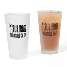 FULHAM & PROUD OF IT Drinking Glass