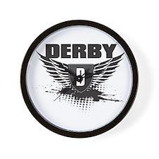 TRIBAL DERBY Wall Clock