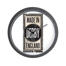 MADE IN DERBY Wall Clock