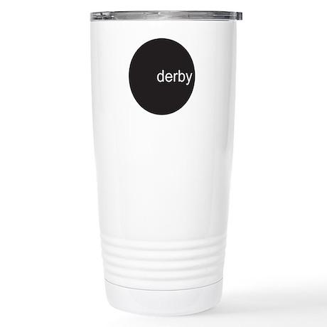 dervy circle Stainless Steel Travel Mug