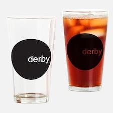 dervy circle Drinking Glass