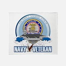 CVN-74 USS Stennis Throw Blanket