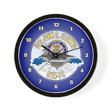 CVN-74 USS Stennis Wall Clock