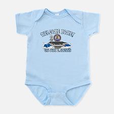 Welcome USS Stennis! Infant Bodysuit