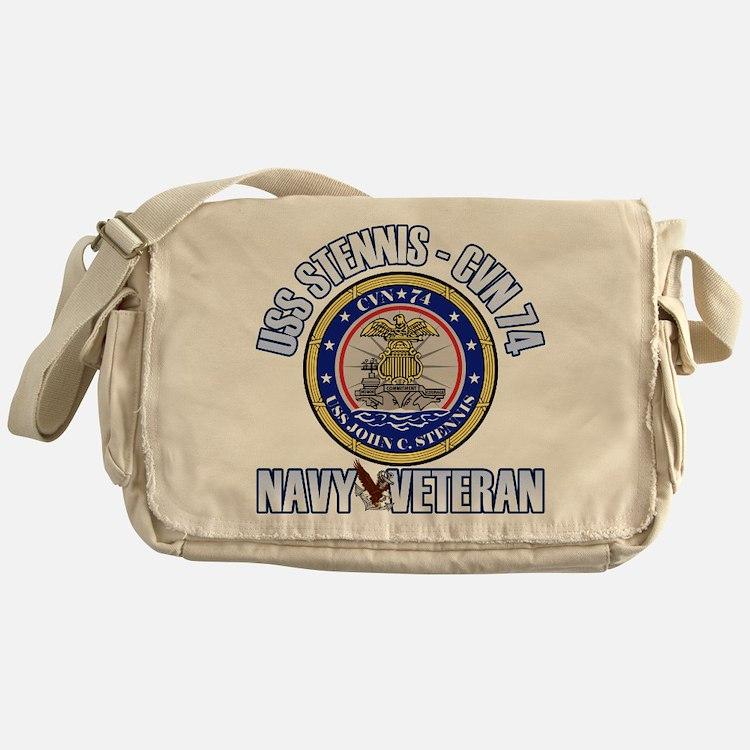 USS Stennis Messenger Bag