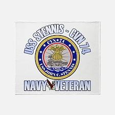 USS Stennis Throw Blanket