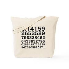 Pi numbers Tote Bag