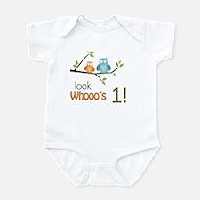 Custom Owl Birthday Infant Bodysuit