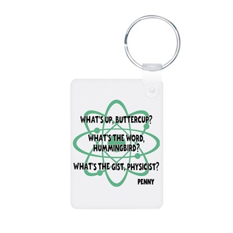 Buttercup Aluminum Keychain (on both sides)