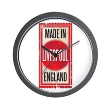 MADE IN LIVERPOOL Wall Clock