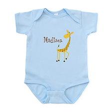 Custom Name Giraffe Onesie
