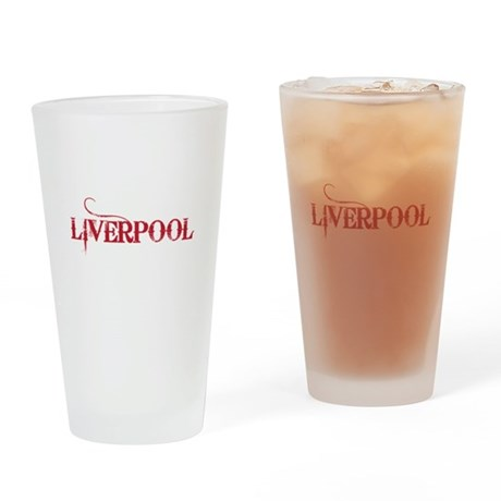 LIVERPOOL Drinking Glass
