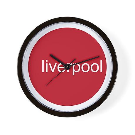 LIVERPOOL CIRCLE Wall Clock
