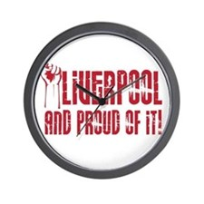 LIVERPOOL & PROUD OF IT Wall Clock