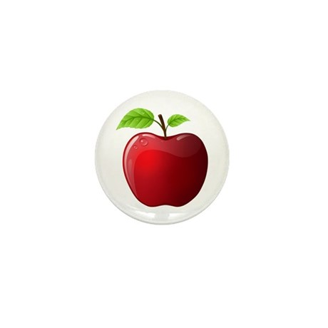 Teachers Apple Mini Button (100 pack)