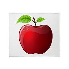 Teachers Apple Throw Blanket