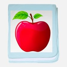 Teachers Apple baby blanket