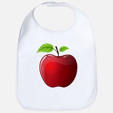 Teachers Apple Bib