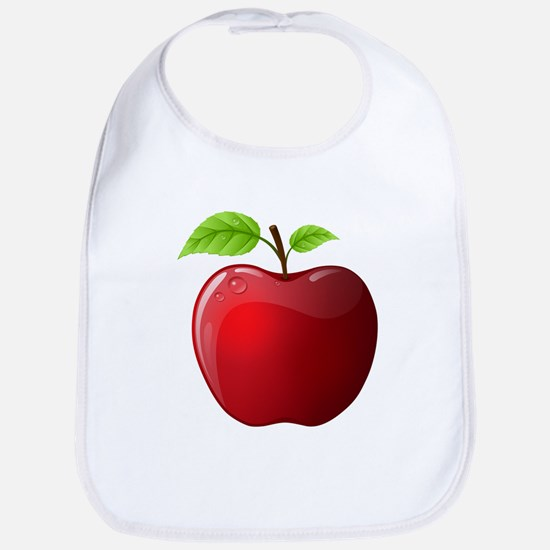 Teachers Apple Bib