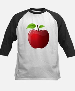 Teachers Apple Kids Baseball Jersey