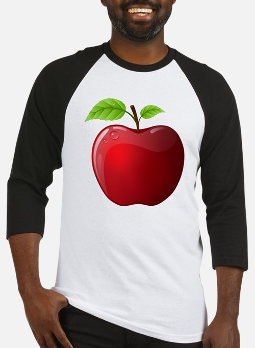 Teachers Apple Baseball Jersey