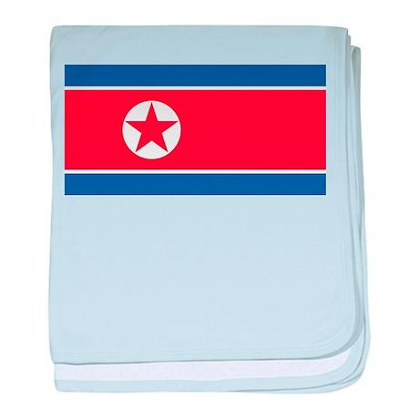 Flag of North Korea baby blanket
