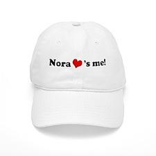 Nora loves me Baseball Cap