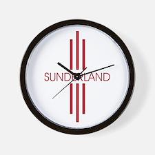 SUNDERLAND STRIPES Wall Clock