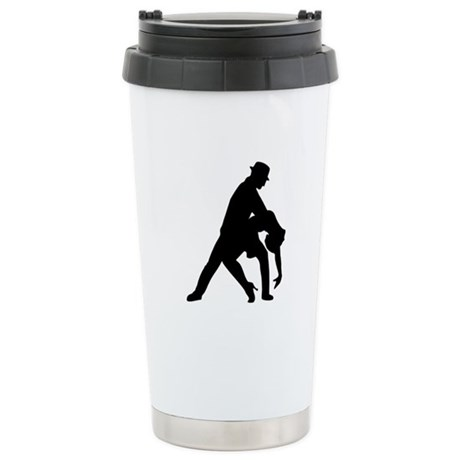 Dancing couple tango Stainless Steel Travel Mug