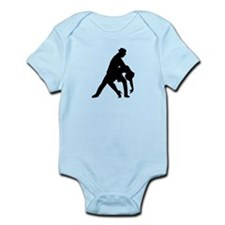 Dancing couple tango Infant Bodysuit