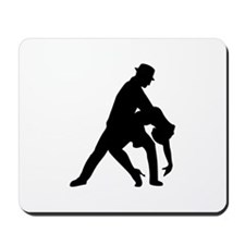 Dancing couple tango Mousepad