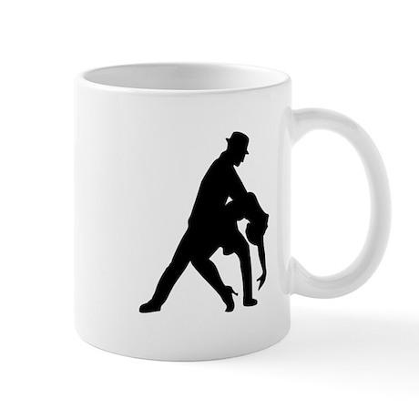 Dancing couple tango Mug