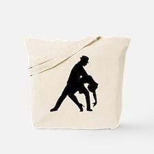 Dancing couple tango Tote Bag