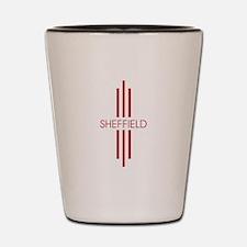 SHEFFIELD STRIPES Shot Glass