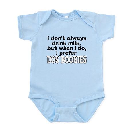 Dos Boobies Baby Infant Bodysuit