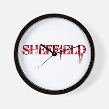 SHEFFIELD Wall Clock