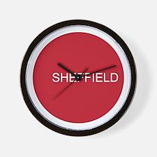 SHEFFIELD CIRCLE Wall Clock