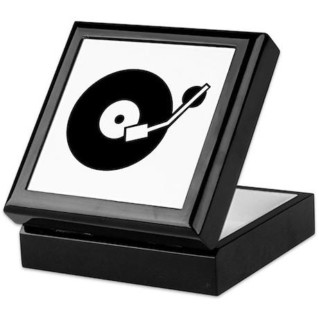Turntable DJ Keepsake Box