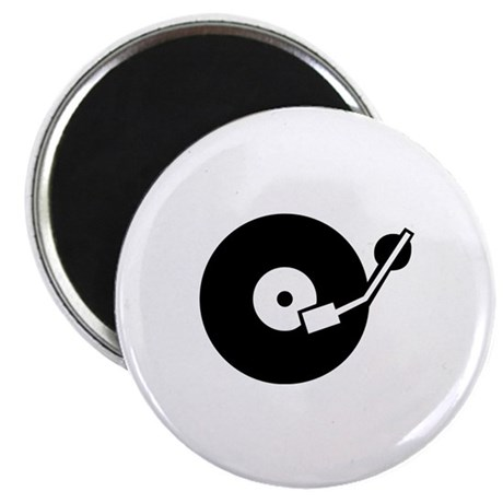 Turntable DJ Magnet