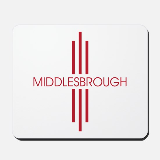 MIDDLEBROUGH STRIPES Mousepad